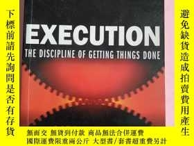 二手書博民逛書店EXECUTION罕見THE DISCIPLINE OF GETTING THINGS DONEY6699 L