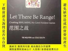 二手書博民逛書店Let罕見There Be Range! Crushing SSNL MSNL No-Limit Holdem G