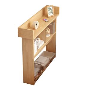 【Incare】開放式木質三層收納櫃(120X24X97cm)松木