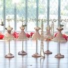 首飾架 新款公主模特家居飾品擺件首飾架飾品收納架創意生日送禮禮品【快速出貨八折鉅惠】