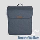 Amore沃克輕商旅15吋後背包-灰藍綠...