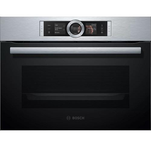 【得意家電】BOSCH 博世 CSG656BS2 8系列 精巧型 嵌入式蒸烤爐(60 x 45 cm) ※熱線07-7428010