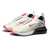 NIKE 慢跑鞋 AIR MAX 2090 CNY 白橘 彩色編織 氣墊 男 (布魯克林) DD8487-161