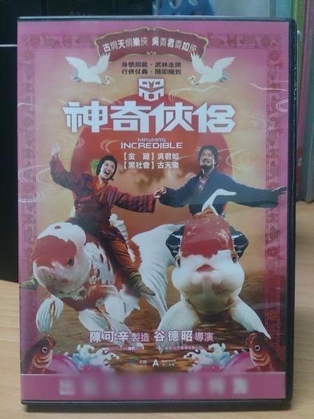 挖寶二手片-Y91-060-正版DVD-華語【神奇俠侶】-古天樂 吳君如 王柏傑 文章 李沁