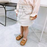 女寶半身裙兒童牛仔裙小孩短裙女小童時髦裙子夏季 全館免運