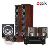 Polk Audio RtiA9 環繞家庭劇院組 (安橋TX-NR686/RtiA9/CsiA6/S15/JBL P10SW) 木紋箱體
