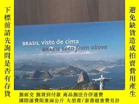 二手書博民逛書店Brasil罕見Visto De Cima   Brazil Seen From Above (Em Portug