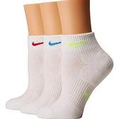 Nike耐吉- 女3包組運動襪(白色)
