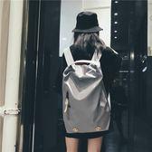 休閒後背包時尚潮流健身旅行背包女INS 超火後背包旅遊大容量休閒輕便書包男 伊羅鞋包