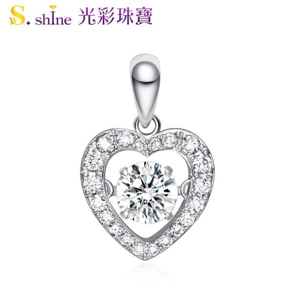 【光彩珠寶】GIA0.3克拉 日本舞動鑽石項鍊 愛的約定