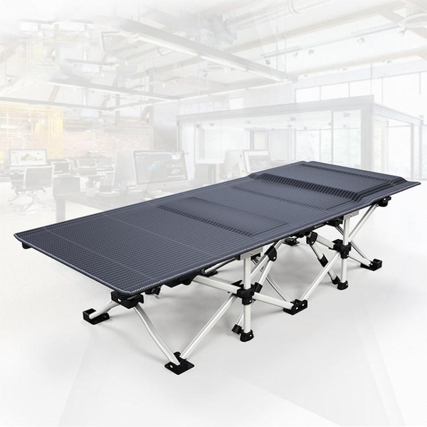 摺疊床辦公室午休摺疊床單人行軍午休床免安裝躺椅摺疊 青木鋪子「快速出貨」