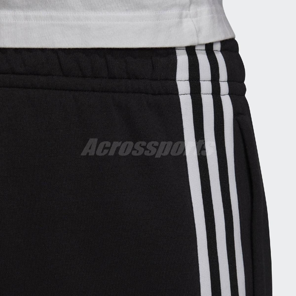 adidas 短褲 Originals Shorts 黑 白 男款 棉褲 運動休閒 【ACS】 FM9878