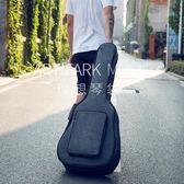 吉他袋吉他包41寸40寸加厚民謠個性學生用琴包雙肩防水防震古典吉他背包YYS 伊莎公主