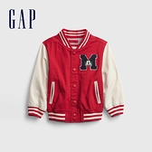 Gap男幼童 Gap x Disney 迪士尼系列聯名撞色棒球服 681563-紅色