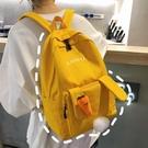 背包 ins風書包女韓版高中小學生初中生少女可愛大容量卡通背包雙肩包(快速出貨)