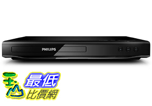 [106美國直購]  Philips 全區DVD Player All Multi Region Zone Code 1080p HDMI Up-Converting DVD Player, Plays PAL/NTSC DVD s