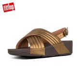 熱銷5折!FitFlop】LULU PADDED BACK-STRAP SANDALS鋪棉造型後帶涼鞋-女(銅色)