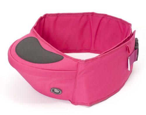 英國Hippychick Hipseat 坐墊式抱嬰腰帶-桃紅色(2013全新升級版 坐墊多了防滑設計)