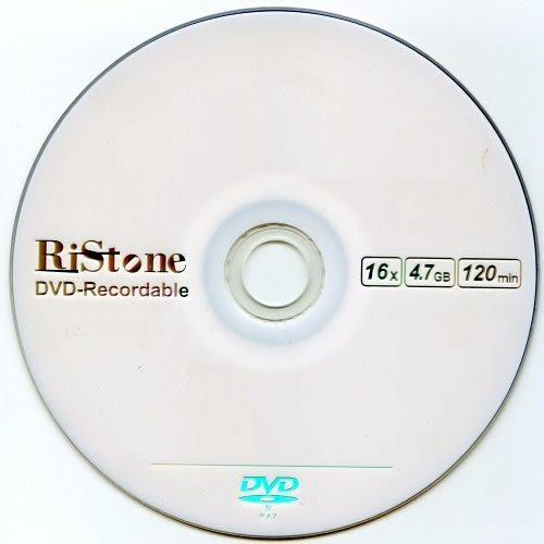 ◆贈CD棉套+免運費◆RiStone 日本版 A+ DVD-R 16X 4.7GB 光碟燒錄片x 300P=加碼贈CD棉套X1