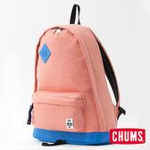 CHUMS 日本 SxN 經典豬鼻休閒後背包 霧紅/藍 CH600681R037