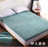 床墊榻榻米1.8m學生加厚保暖海綿墊單雙人折疊床褥子墊被zzy4103『伊人雅舍』