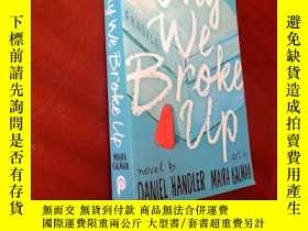 二手書博民逛書店Why罕見We Broke UpY177301 Daniel H