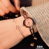 手錶女學生手鐲式復古小巧簡約韓版ulzzang潮流氣質手鍊潮女大方    易家樂