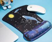 電腦墊 3D藝術滑鼠墊可愛女生EXCO辦公小號電腦游戲動漫手托 俏女孩
