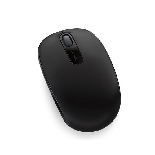 Microsoft無線行動滑鼠1850-削光黑【愛買】