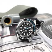 SEIKO 精工 / 4R35-03W0I.SRPG21K1 / PROSPEX PADI 武士王 潛水錶 機械錶 日期 矽膠手錶 黑色 44mm
