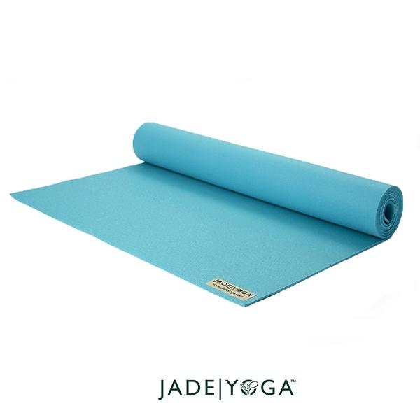 Jade Yoga 天然橡膠瑜珈墊 Harmony Mat 4.8mm 173cm - 湖水綠(贊助)