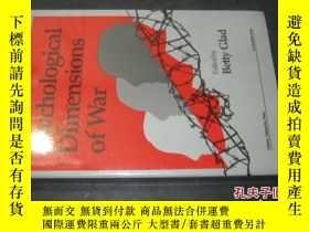 二手書博民逛書店Psychological罕見Dimensions Of War (violence Cooperation Pe