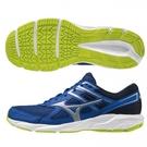 MIZUNO SPARK 6 男鞋 慢跑 健走 耐磨止滑 透氣 藍銀【運動世界】K1GA210340