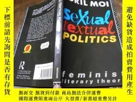 二手書博民逛書店SEXUAL罕見TEXTUAL POLITICS TORIL M