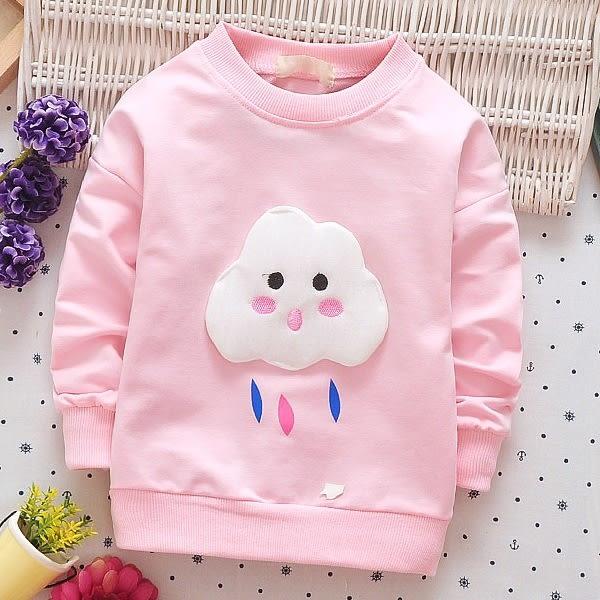 馬卡龍色 嬰幼兒長袖上衣 嬰幼兒保暖T恤 童裝 UG0264