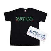 【現貨】Supreme Nuova York Tee 短袖上衣 短Tee 字體 潮流 休閒 透氣 舒適 白 黑 2色 FW20T16