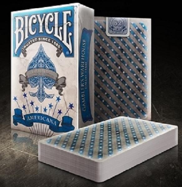 【USPCC撲克】BICYCLE AMERICANA BLUE