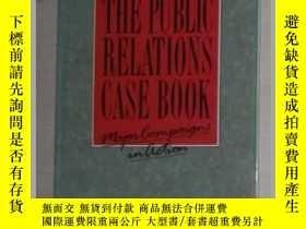 二手書博民逛書店英文原版罕見The Public Relations Case