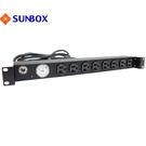 8孔20安培 指針電錶 機架型排插 (S...