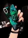 手機殼 蘋果x手機殼女款鑲鉆xs硅膠保護套8plus時尚6/6s帶鉆7P個性潮女創意潮款