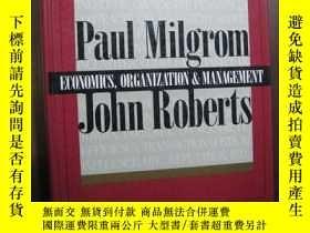 二手書博民逛書店Economics,罕見organization and managementY10980 Economics