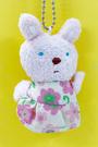 【震撼精品百貨】Gaspard et Lisa_麗莎和卡斯柏~手指絨毛吊飾-兔子#14631