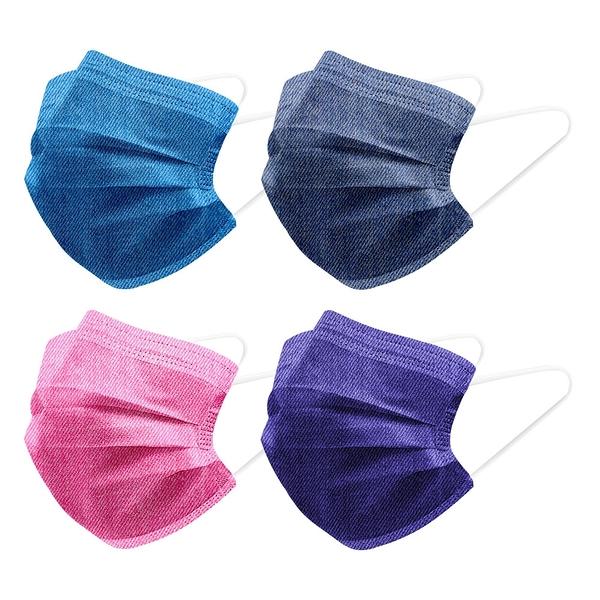 【3期零利率】預購 RM-A121 一次性防護丹寧牛仔口罩 20入/包 3層過濾 熔噴布 高效隔離汙染 (非醫療)