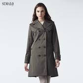 【ST.MALO】O.N.E.長經典款雙排機能風衣-1948WC-暗軍綠