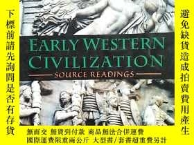 二手書博民逛書店Early罕見Western Civilization Sour