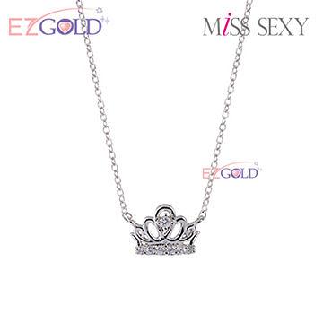 Miss Sexy銀飾♥桂冠約定♥銀飾項鍊(白)