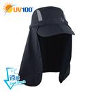 UV100 防曬 抗UV-涼感收納護頸帽-舒適升級