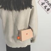 盒子包包迷你盒子小方包包女小包2020潮韓版百搭斜背包少女側背手機包 春季新品
