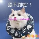 貓咪項圈伊麗莎白圈頭套頸圈幼貓防舔圈寵物狗狗脖套【淘嘟嘟】
