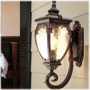 防水歐式壁燈